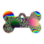 rainbow_xct1-506376 Dog Tag Bone (One Side)