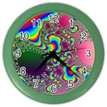 rainbow_xct1-506376 Color Wall Clock