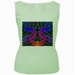popart%202-30230 Women s Green Tank Top