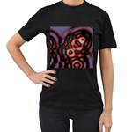 Magic_Drops_02-490649 Women s Black T-Shirt
