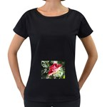 1-4 Maternity Black T-Shirt