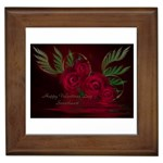 apoth_rose_v Framed Tile