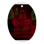 apoth_rose_v Ornament (Oval)