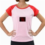 apoth_rose_v Women s Cap Sleeve T-Shirt