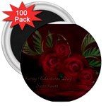 apoth_rose_v 3  Magnet (100 pack)
