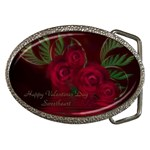 apoth_rose_v Belt Buckle