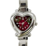 apoth_rose_v Heart Italian Charm Watch