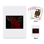apoth_rose_v Playing Cards Single Design