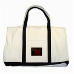 apoth_rose_v Two Tone Tote Bag