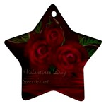 apoth_rose_v Star Ornament (Two Sides)