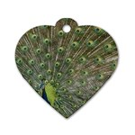 bird_15 Dog Tag Heart (Two Sides)