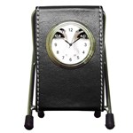 Eyes2 Pen Holder Desk Clock