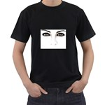 Eyes2 Black T-Shirt (Two Sides)