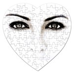 Eyes2 Jigsaw Puzzle (Heart)