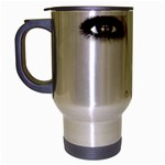 Eyes2 Travel Mug (Silver Gray)