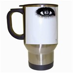 Eyes2 Travel Mug (White)