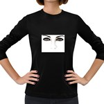 Eyes2 Women s Long Sleeve Dark T-Shirt