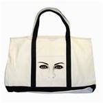 Eyes2 Two Tone Tote Bag