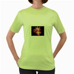 landat_01 Women s Green T-Shirt