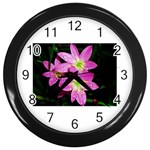 landat_01 Wall Clock (Black)