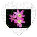 landat_01 Jigsaw Puzzle (Heart)