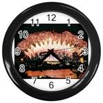 wallpaper_12492 Wall Clock (Black)