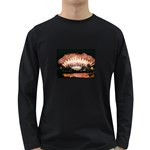 wallpaper_12492 Long Sleeve Dark T-Shirt