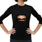 wallpaper_12492 Women s Long Sleeve Dark T-Shirt