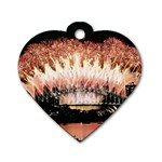 wallpaper_12492 Dog Tag Heart (One Side)