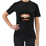 wallpaper_12492 Women s Black T-Shirt
