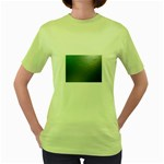 asja Women s Green T-Shirt