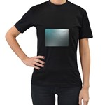 asja Women s Black T-Shirt (Two Sides)