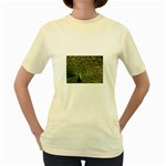 bird_15 Women s Yellow T-Shirt