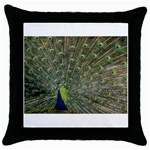 bird_15 Throw Pillow Case (Black)