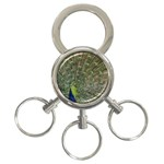 bird_15 3-Ring Key Chain