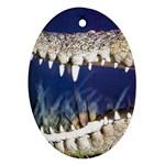 Croc Ornament (Oval)