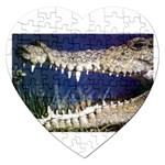 Croc Jigsaw Puzzle (Heart)