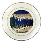 Croc Porcelain Plate