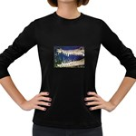 Croc Women s Long Sleeve Dark T-Shirt