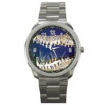 Croc Sport Metal Watch