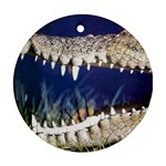 Croc Round Ornament (Two Sides)
