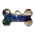 Croc Dog Tag Bone (Two Sides)