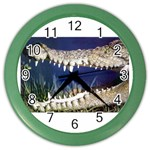 Croc Color Wall Clock