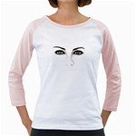 Eyes2 Girly Raglan