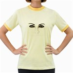 Eyes2 Women s Fitted Ringer T-Shirt