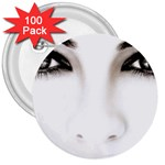Eyes2 3  Button (100 pack)