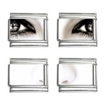 Eyes2 9mm Italian Charm (4 pack)