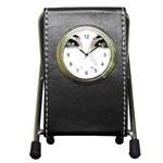 Eyes2 Pen Holder Desk Clock