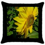 flowers_30 Throw Pillow Case (Black)