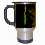 flowers_30 Travel Mug (Silver Gray)